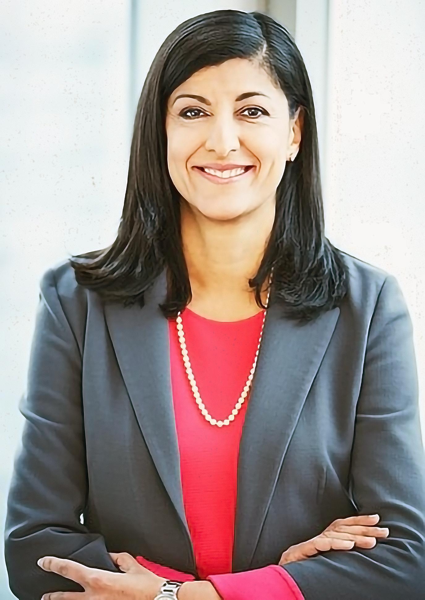 Zabeen Hirji, Deloitte's Global Advisor on the Future of Work, Toronto.