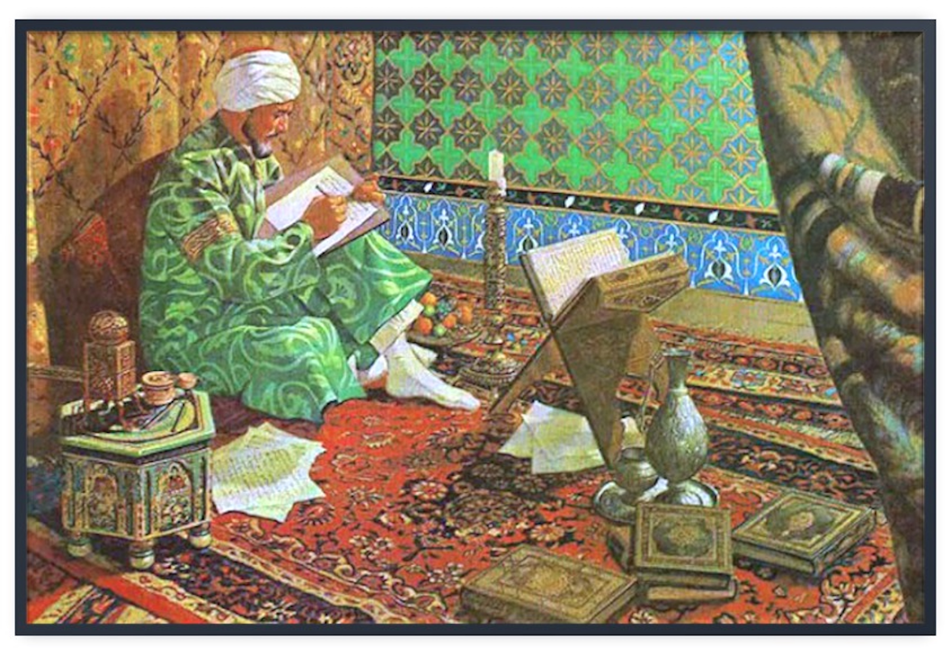 Ibn Sina, who is credited with first experimenting with quarantining patients.