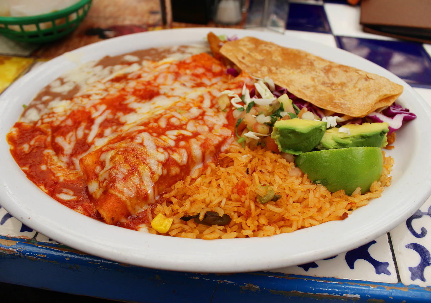 From enchiladas to tostadas, a little bit of Tex in Mex food makes it an all-American meal.