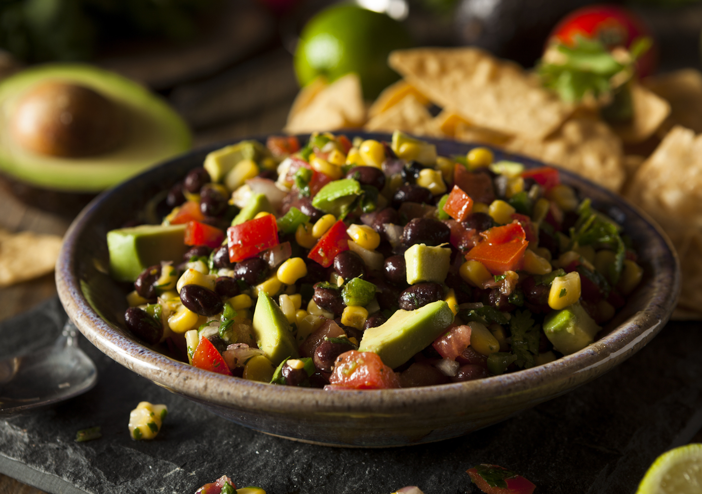 A surprisingly healthy, vegetarian option that's filling and delicious!