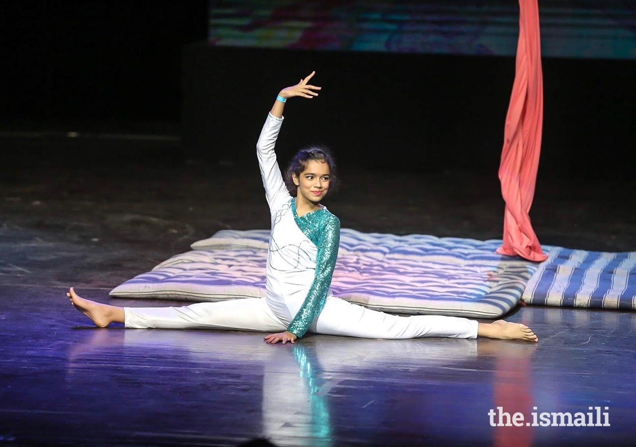 Sarah's talent lies dance, which she performs regularly on stage.
