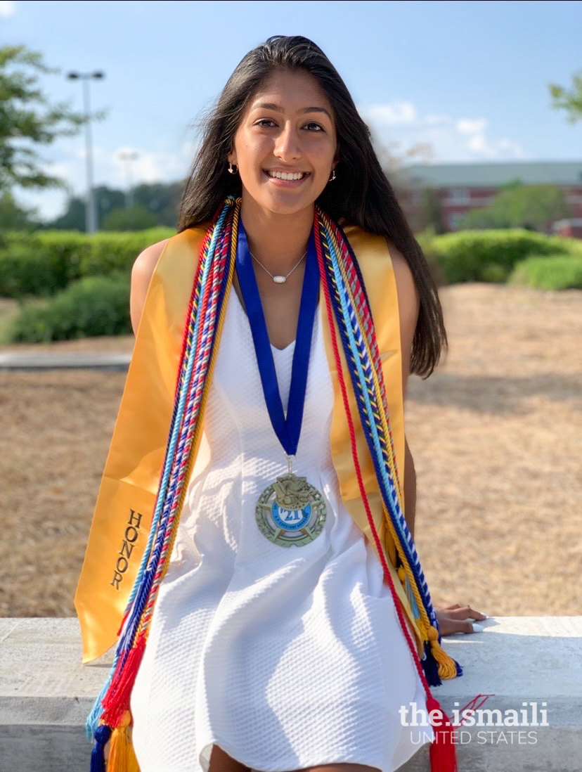 Uzma Issa offered the valedictorian speech at her high school in Hoover, Alabama