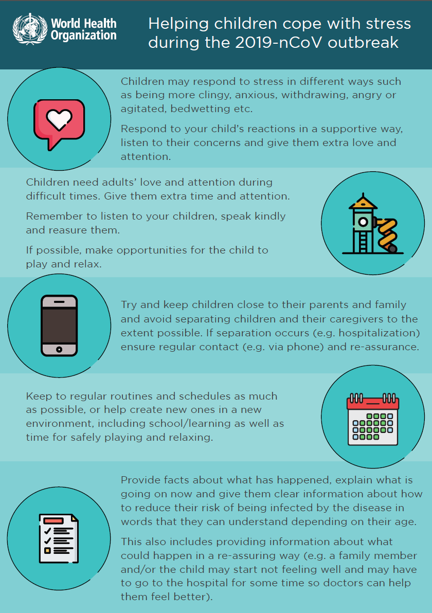 WHO - Helping Children Cope with Stress