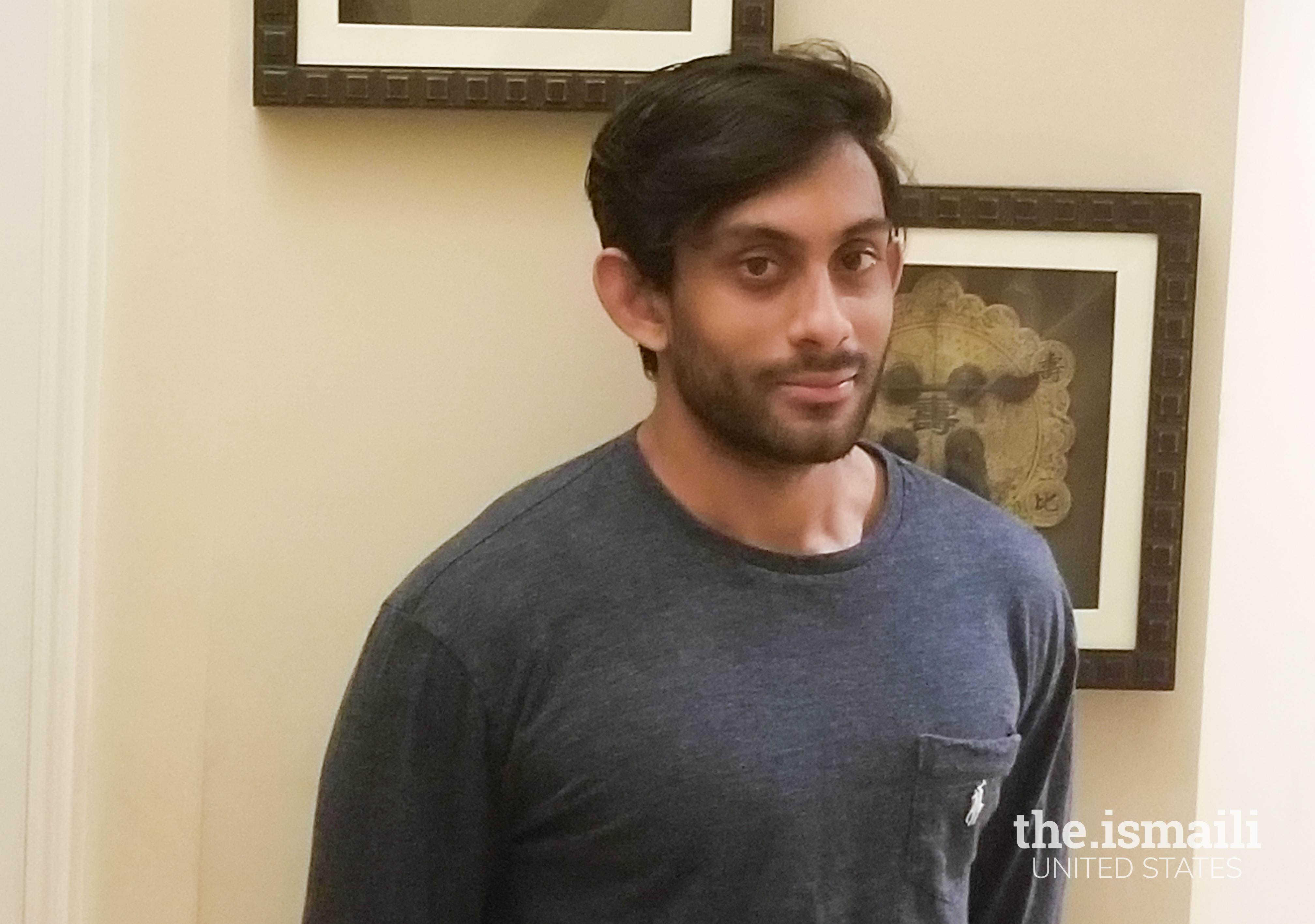 Zaeem Ukani, engaged in Carolyn Bourdeaux's campaign in Georgia.