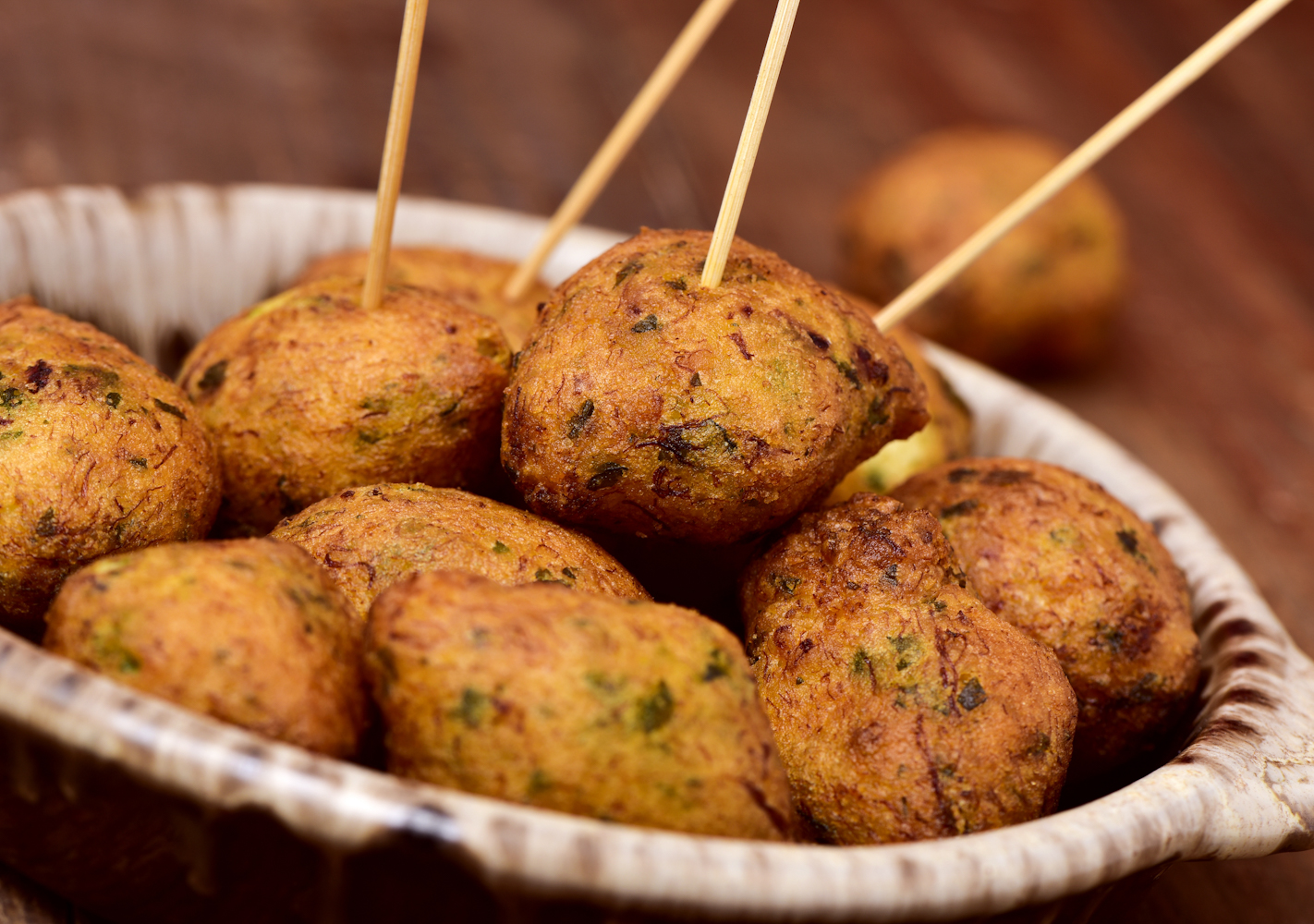 Fulfill your craving for fried food with these delicious Portuguese-style cod fritters.