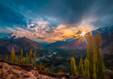 Reshit, situated in the Hunza District of Gilgit-Baltistan, is the oldest village of Chipurson, and known as the central village of Chipursan Valley.