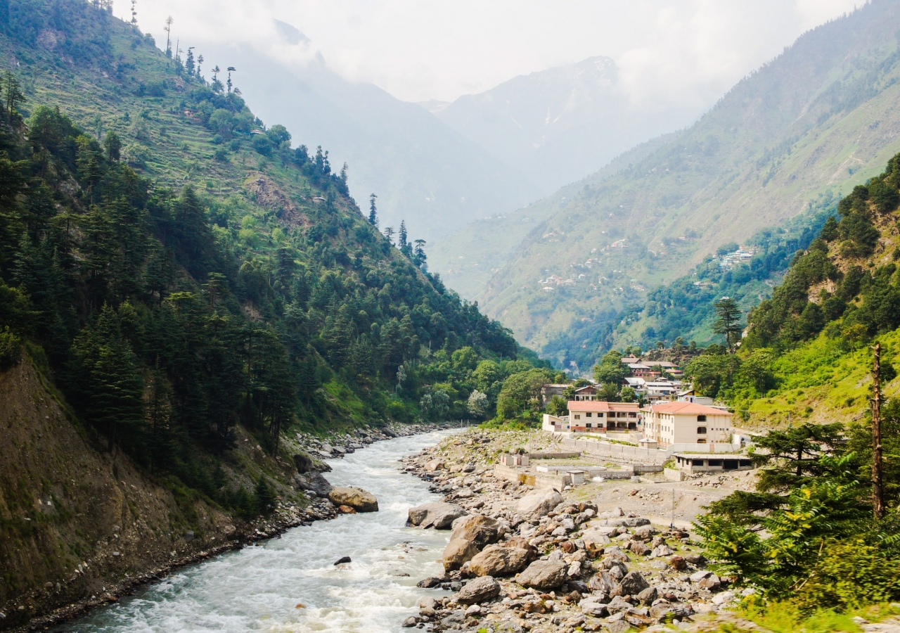 Tranquil scene of a village in Chitral. Photo: Zain Reza/Unsplash.