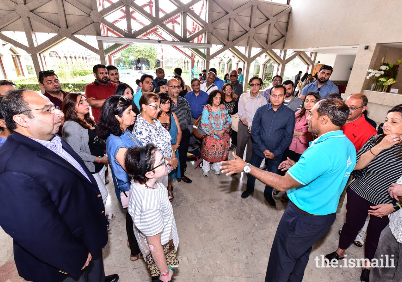 Over 24,000 people from all over the world visited and toured the Ismaili Centre while in Lisbon for the Diamond Jubilee Celebration in July 2018.