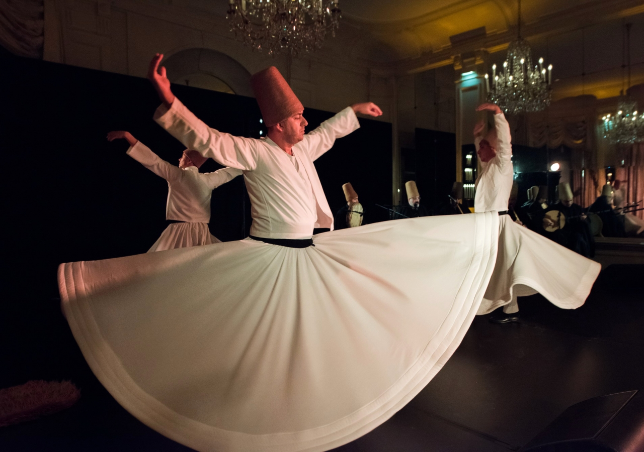 A performance by artists from the Meshk Ensemble based on the mystical poetry of Jalal al-Din Rumi.