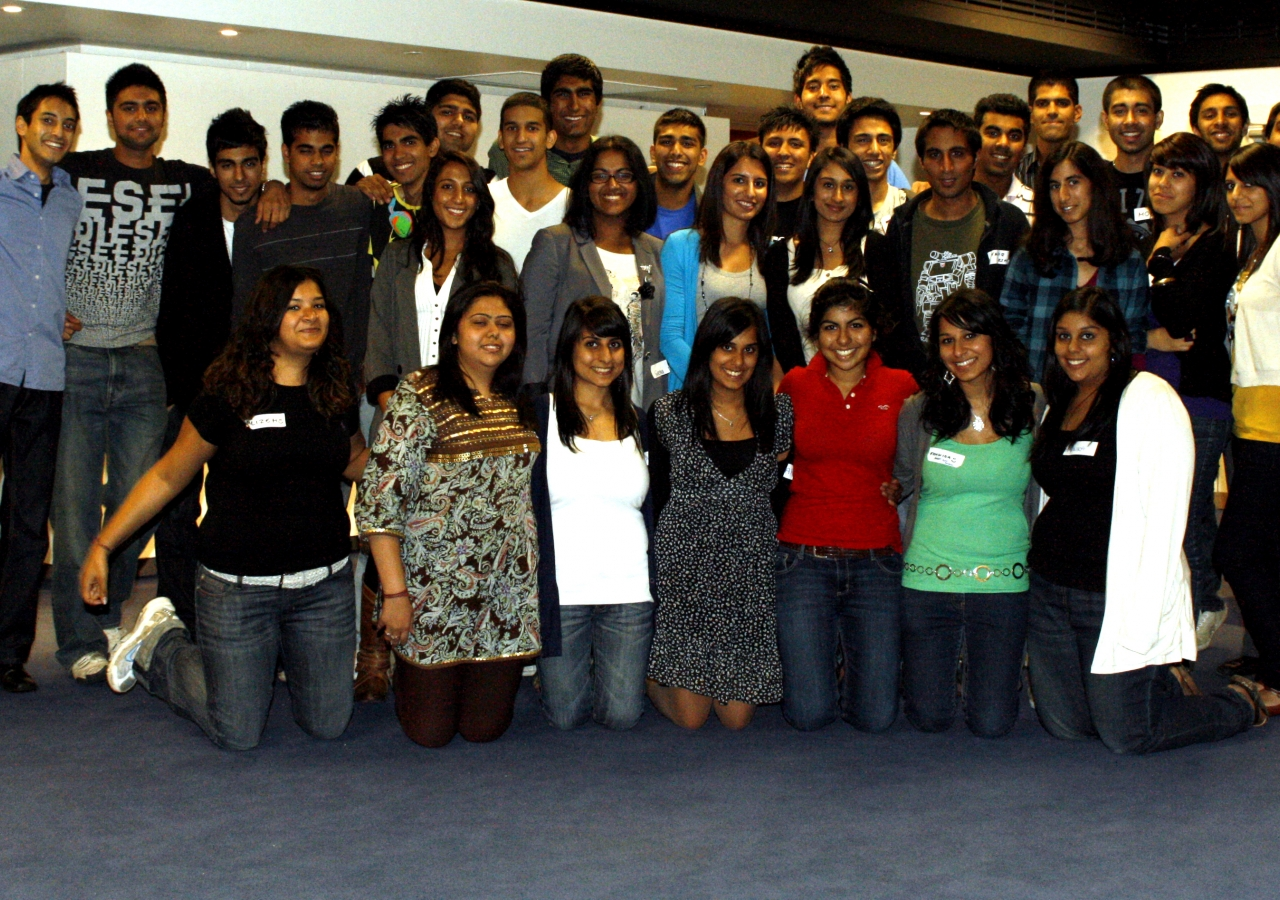 The Ismaili Student Network 'Get Fresh' event brought together students from universities throughout the UK.