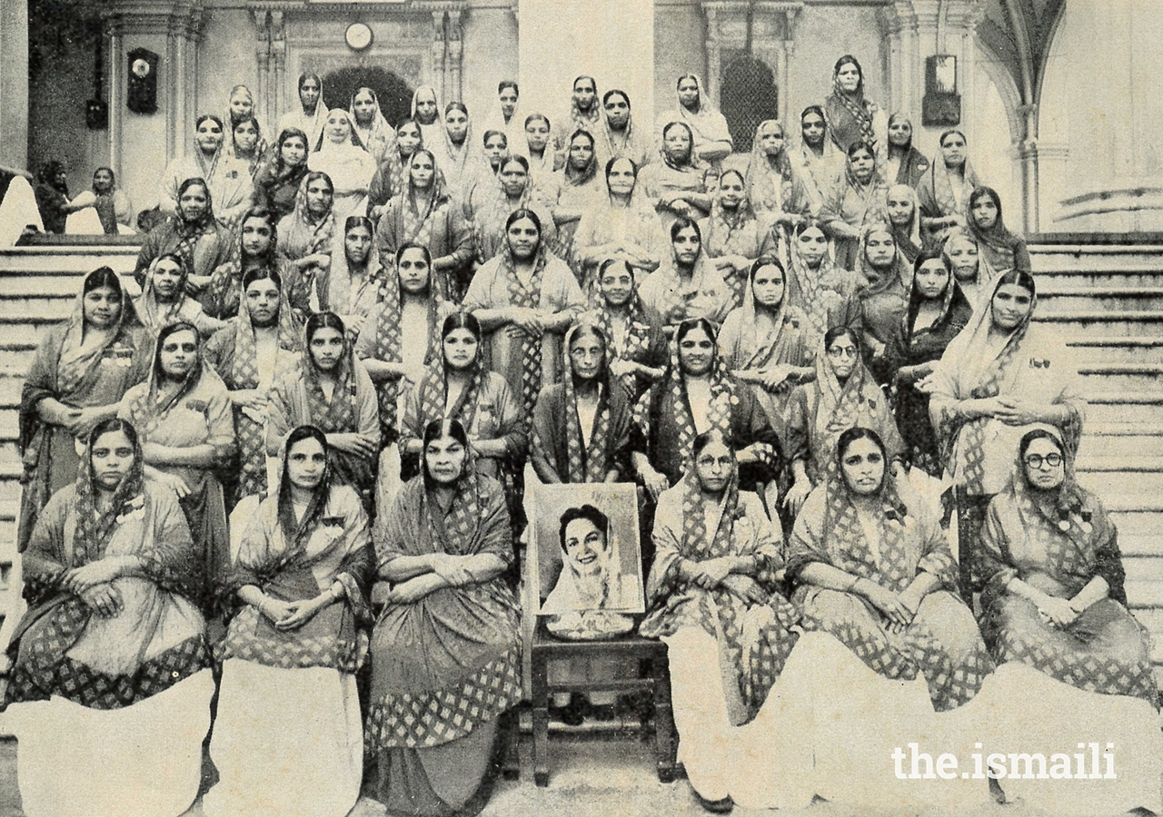 The Hasnabad Ladies Volunteer Corps.