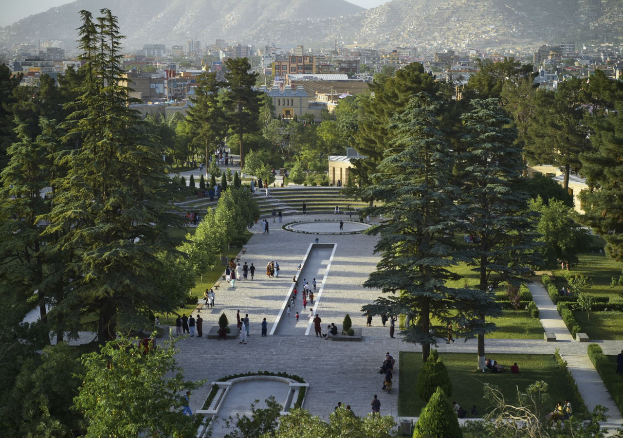 Chihilsitoon Garden, a 12.5-hectare public site, is Kabul's largest historic public garden, providing a high-quality public space for social interaction, culture, education, sport and recreation.