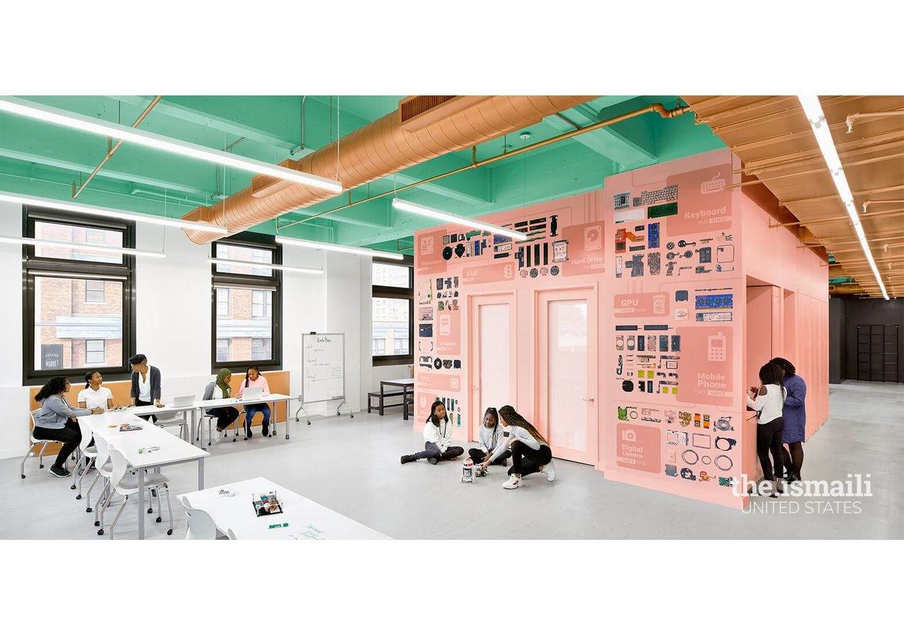 Kurani designed the Black Girls Code Lab so girls would feel inspired and encouraged to pursue STEM careers.