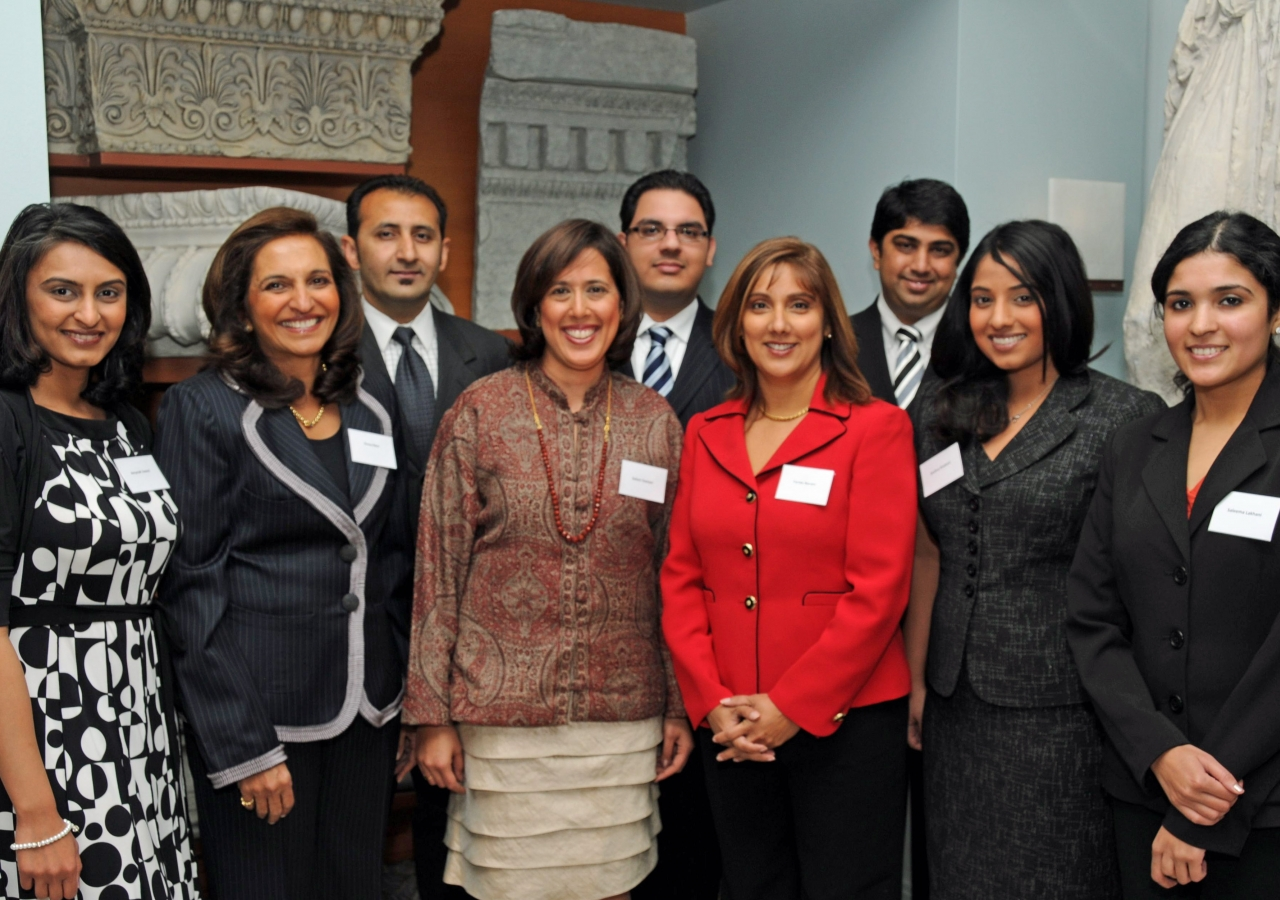 Ismaili volunteers played an important outreach role at all of the events held at the Michael C. Carlos Museum in Atlanta.