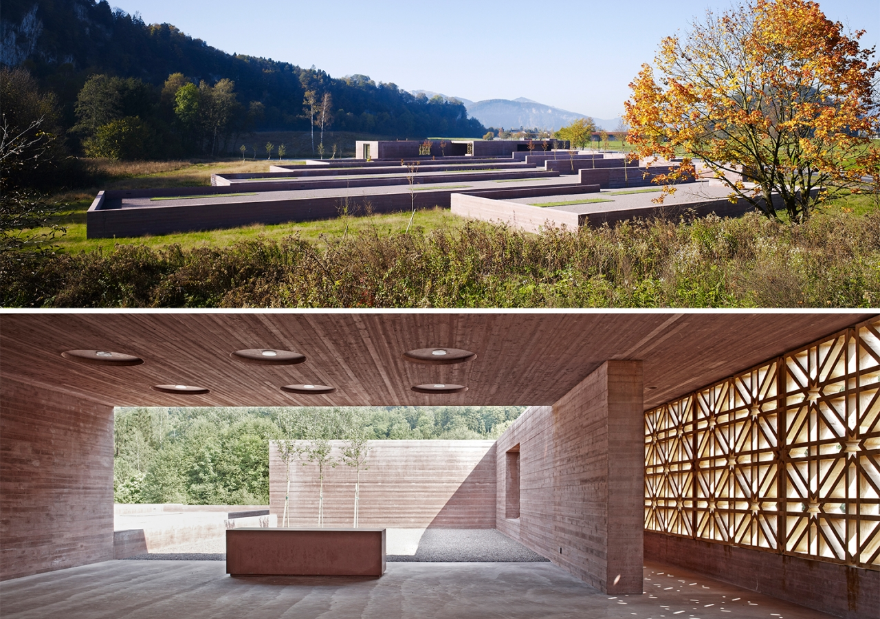 Shortlisted for the 2013 Award, this cemetery in Altach, Austria, serves the sizeable Muslim population living in Voralberg state.