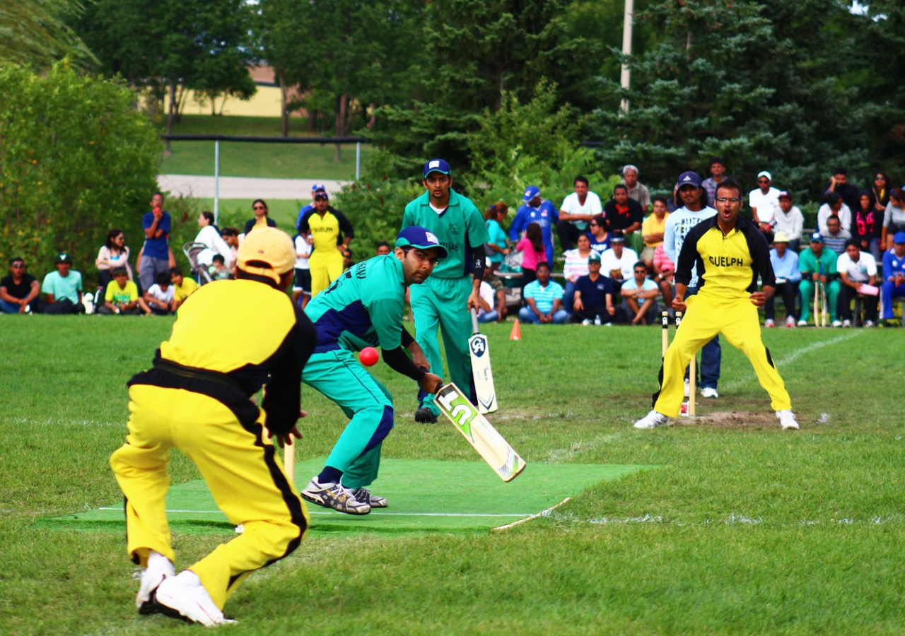 The Council versus Mukhi-Kamadias match drew a crowd and offered lots of excitement.