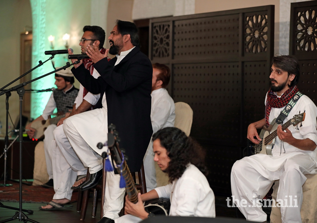 Performers at the institutional dinner held at Serena Hotel Islamabad