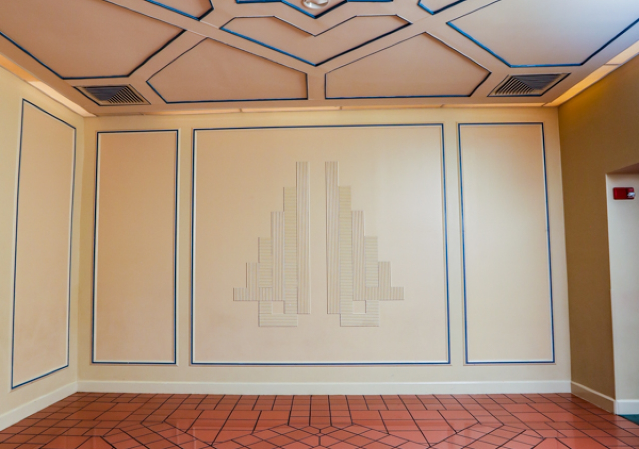 Lobby entrance of the Ismaili Jamatkhana, Atlanta