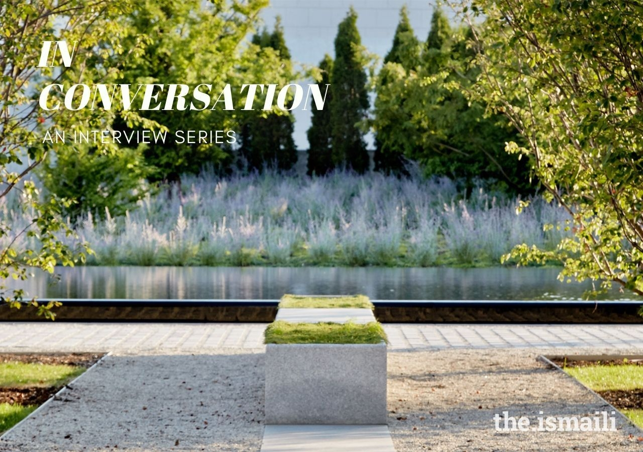 The Ismaili spoke with Vladimir Djurovic about his experience designing Toronto's Aga Khan Park, and how the space brings people together.