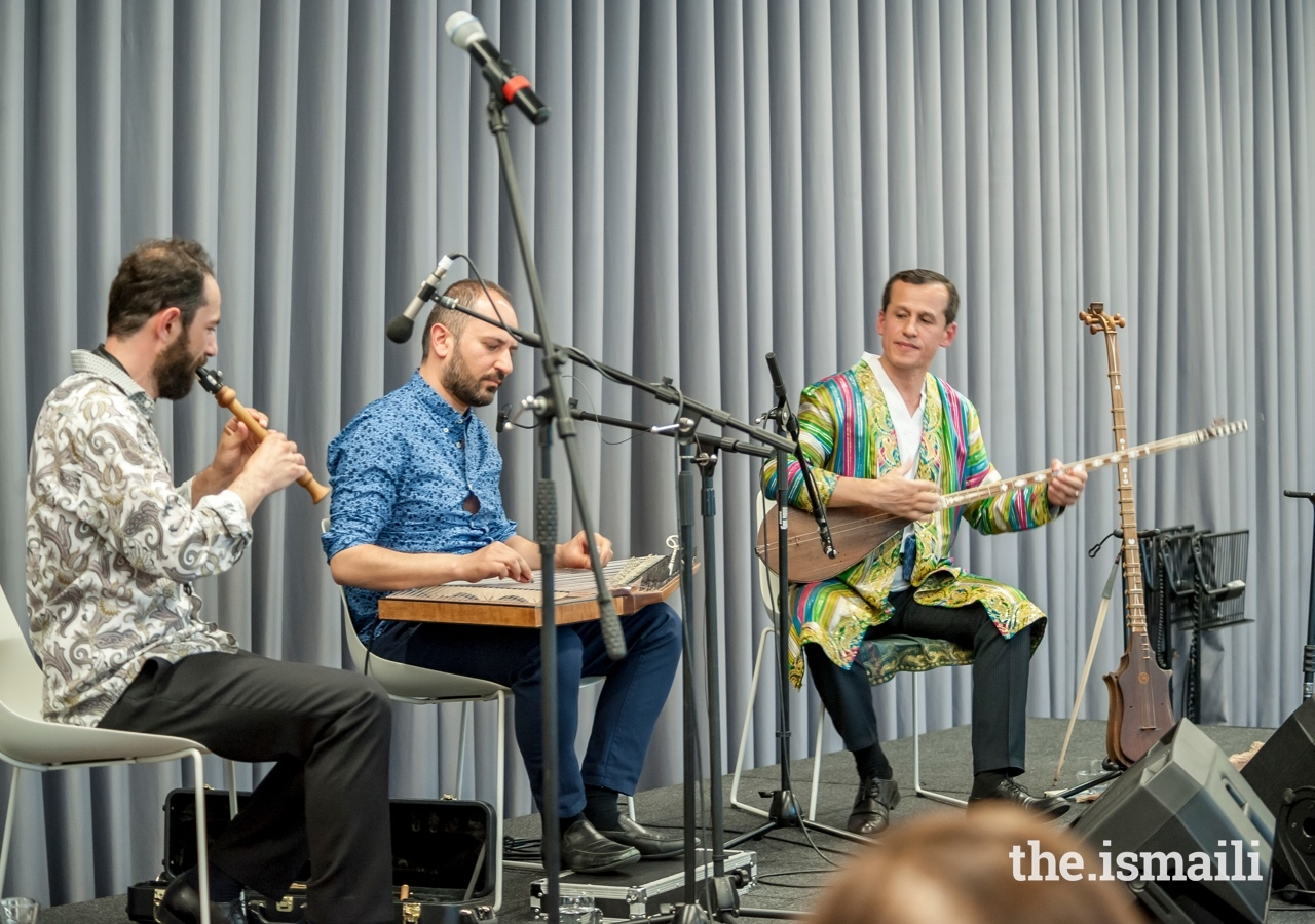 The Aga Khan Music Initiative hosted an event at the Aga Khan Centre entitled 'Inspired by Maqam' featuring new music from Syria and Tajikistan.