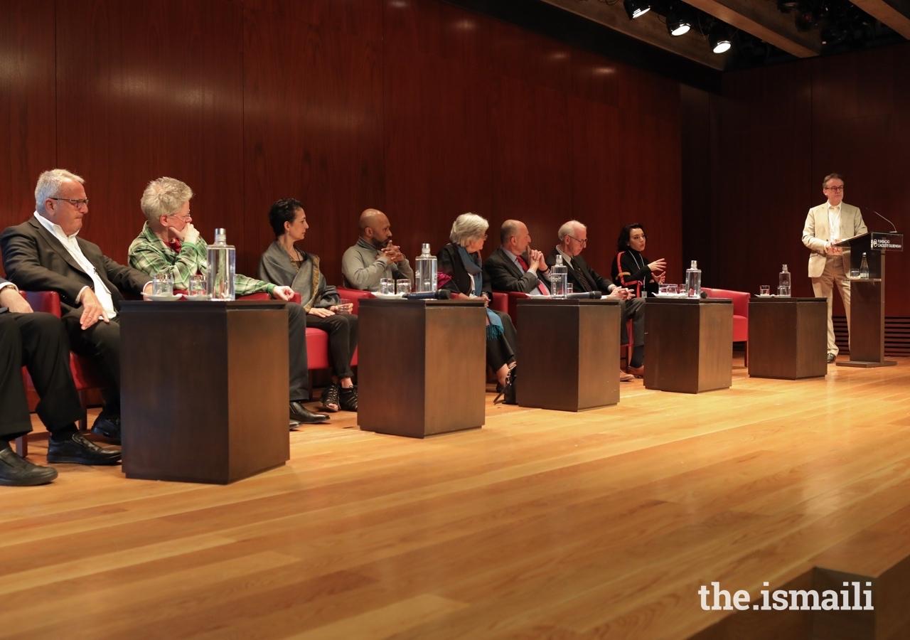 The Seminar panel was composed of members of the Aga Khan Music Awards Master Jury, Steering Committee, and Secretariat.
