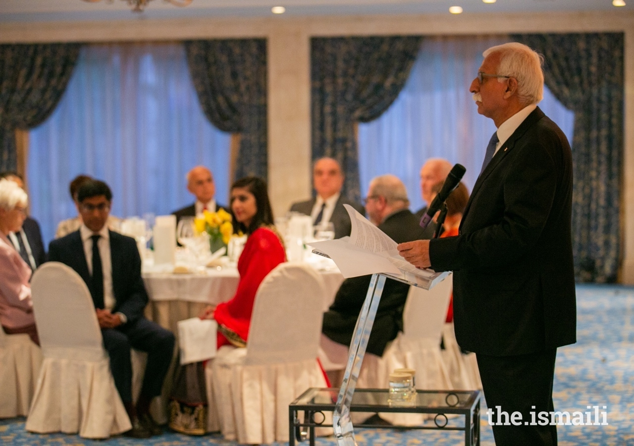 Aga Khan University President Firoz Rasul highlighted how the values shared by AKU and its public and private sector partners in Portugal had acted as a driving force for a range of innovative projects.