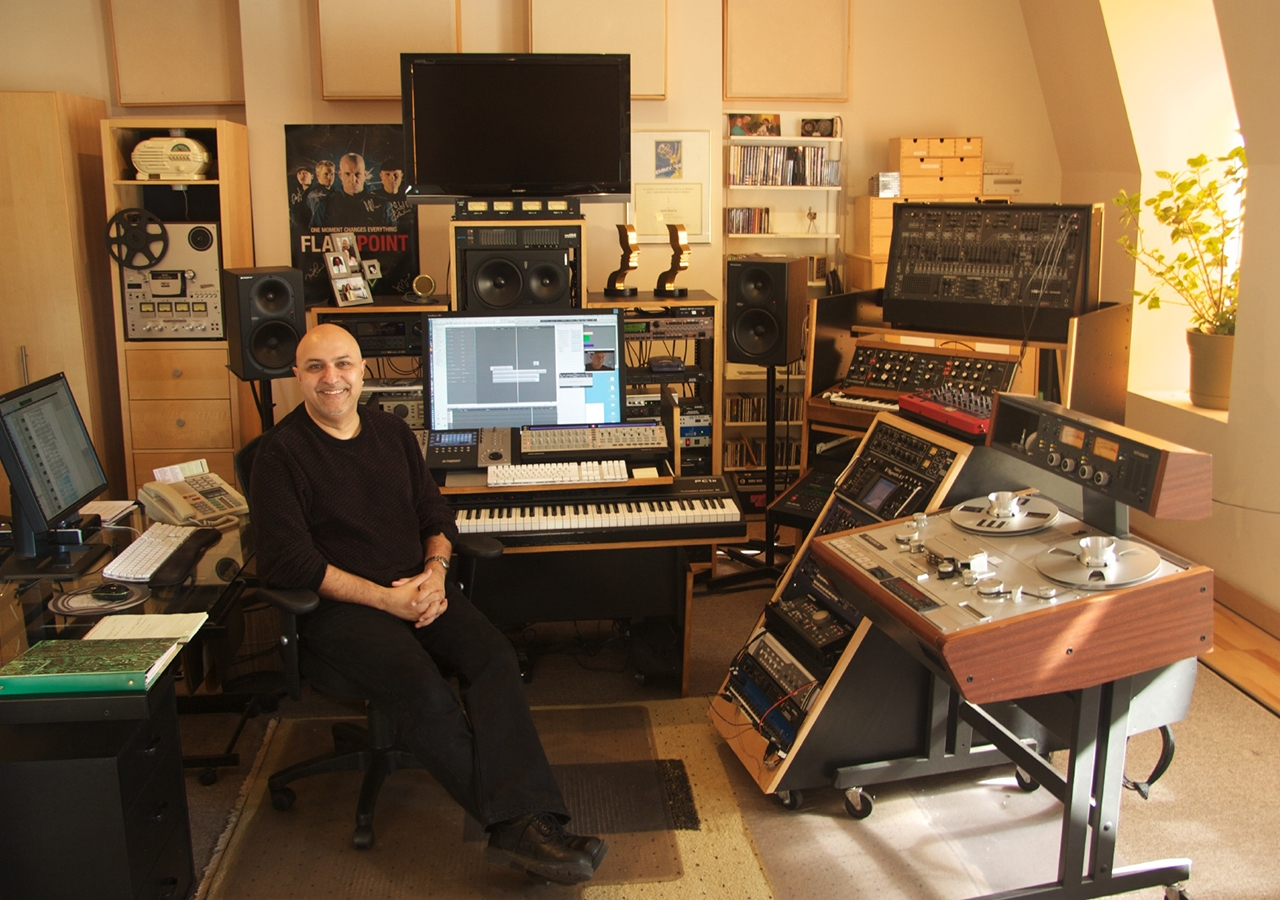 Amin Bhatia is an award-winning composer with nearly 50 scores to his credit. He has written music for film, TV, and album projects for over 30 years and recently won a Canadian Screen Award for his work on the Netflix show Anne with an E.