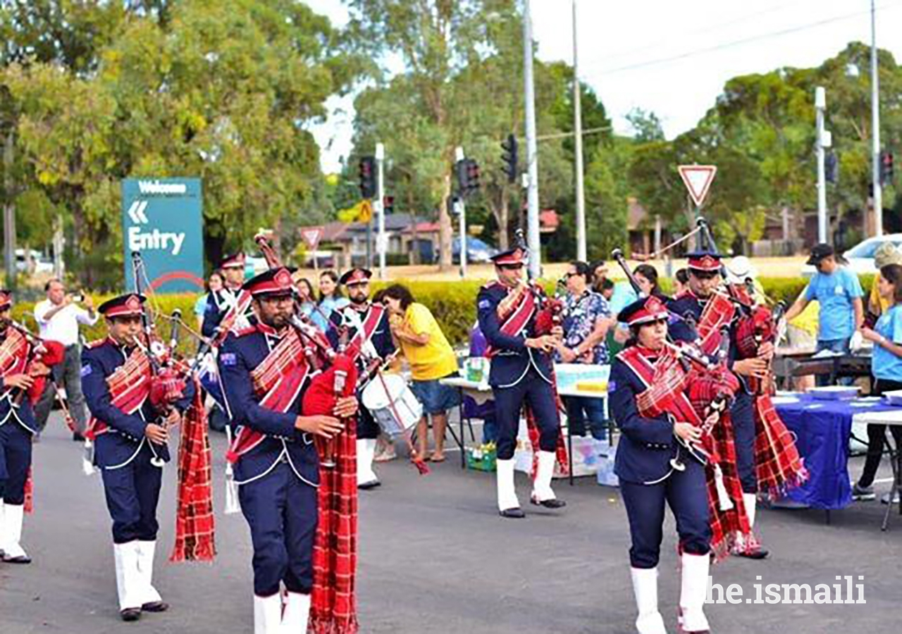 The Melbourne Pipe Band came together some 10 years ago to share their love for music, marching, and tradition.