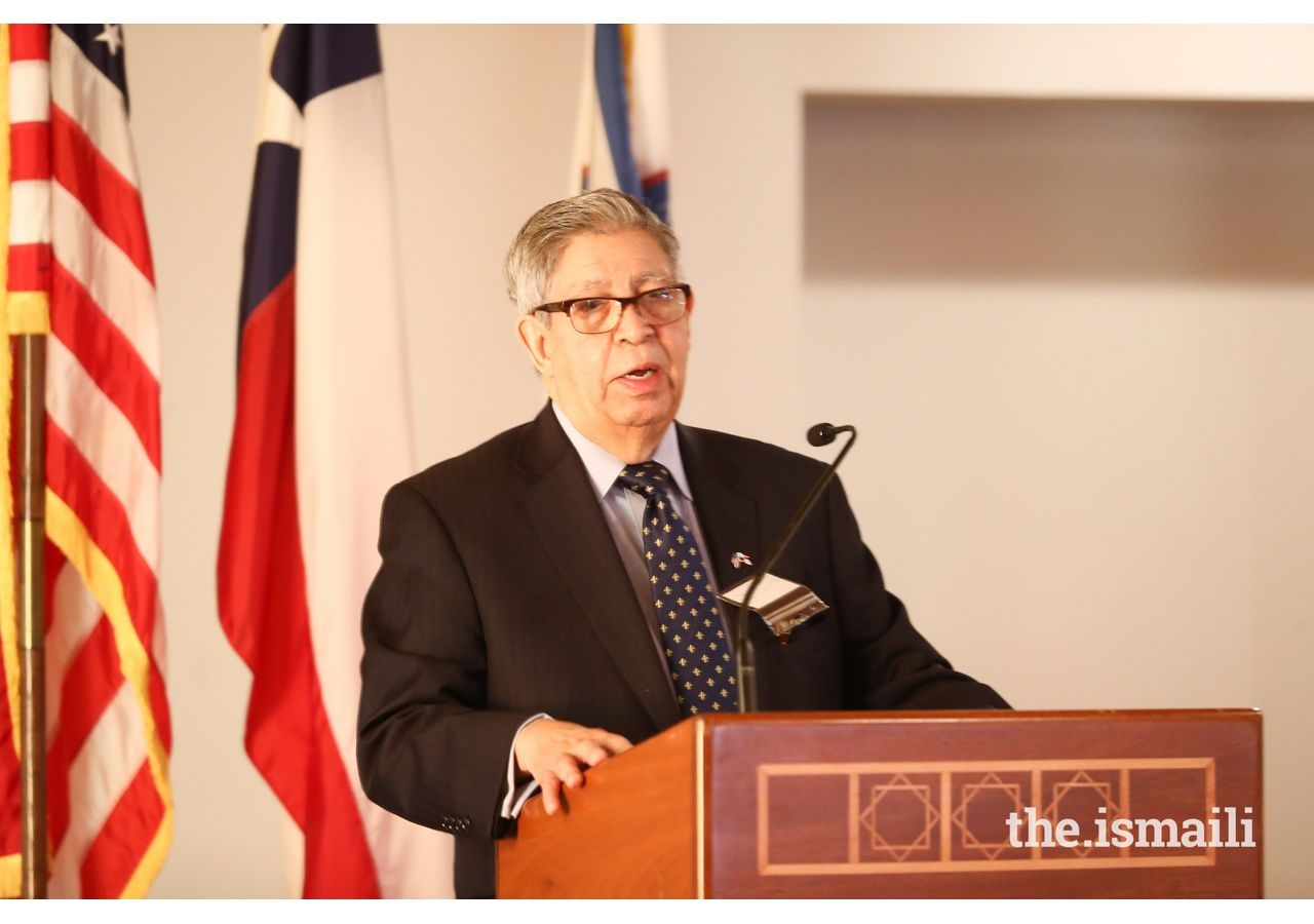 Ambassador Juan B. Sosa, Dean of the Consular Corps of Houston, provides remarks and shares his vision for future collaborations.