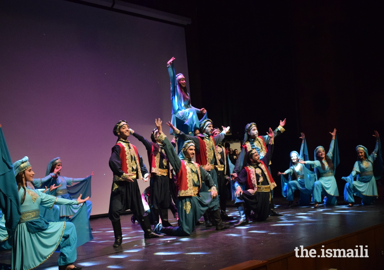 The celebration ended with the folklore group, led by coach Ghaith Mahfoud, in which the dancers presented three popular items.