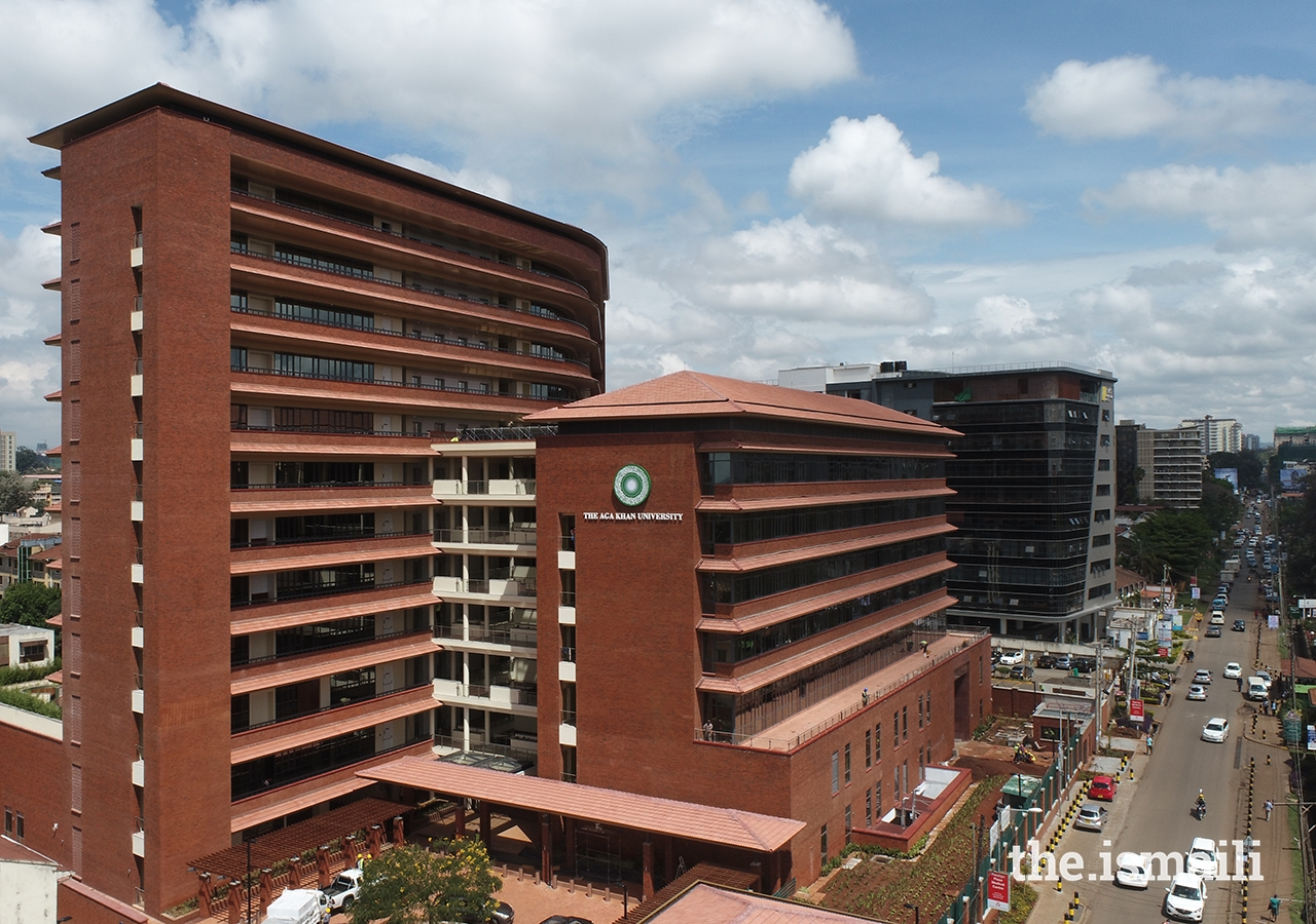 On 11 June 2021, AKU celebrated the official opening of the University Centre — its new main campus in Kenya, located across the street from the AKU Hospital and Darkhana Jamatkhana in Parklands, Nairobi.