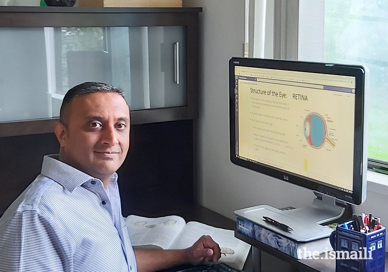 Fayaz Mawani, a high school science teacher in North Burnaby, B.C., had to use creative techniques to quickly prepare effective online learning modules when schools closed.