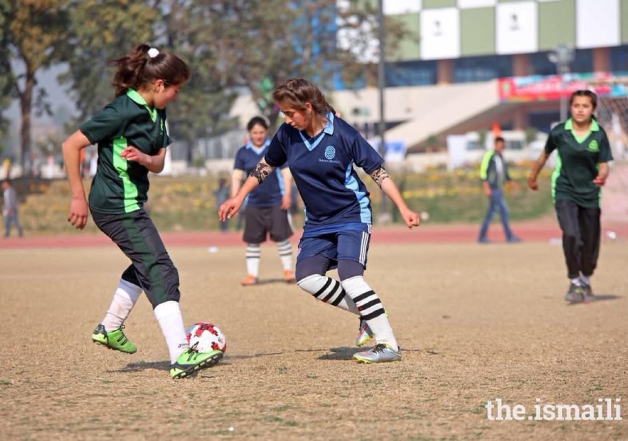 Football at the DJSF National Games