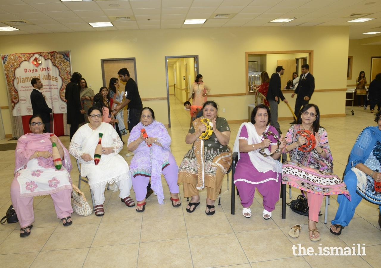 Florida's Matki Band performing for the Jamat.