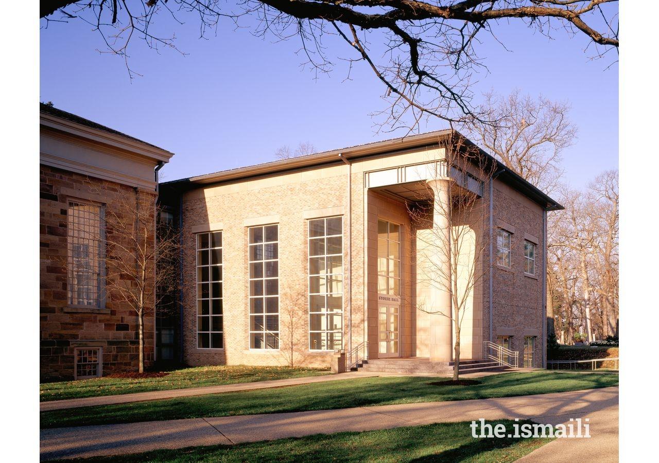 Music Building (interior), Kenyon College, Ohio. Project Team member, Khalil Pirani.