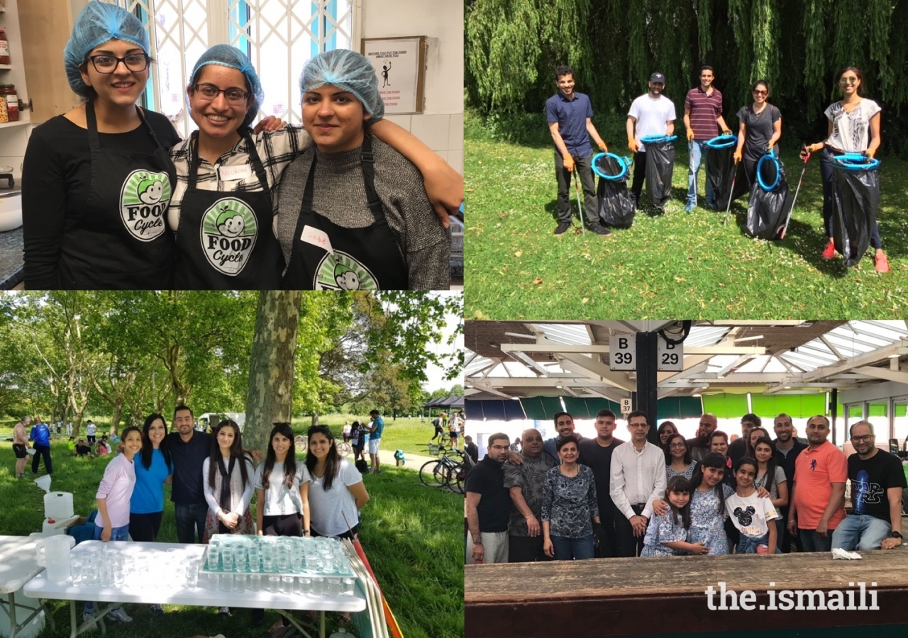 The inaugural i-CERV weekend saw Ismailis from across the UK volunteer at soup kitchens, homeless shelters, park clean-ups, and training sessions for the aged.