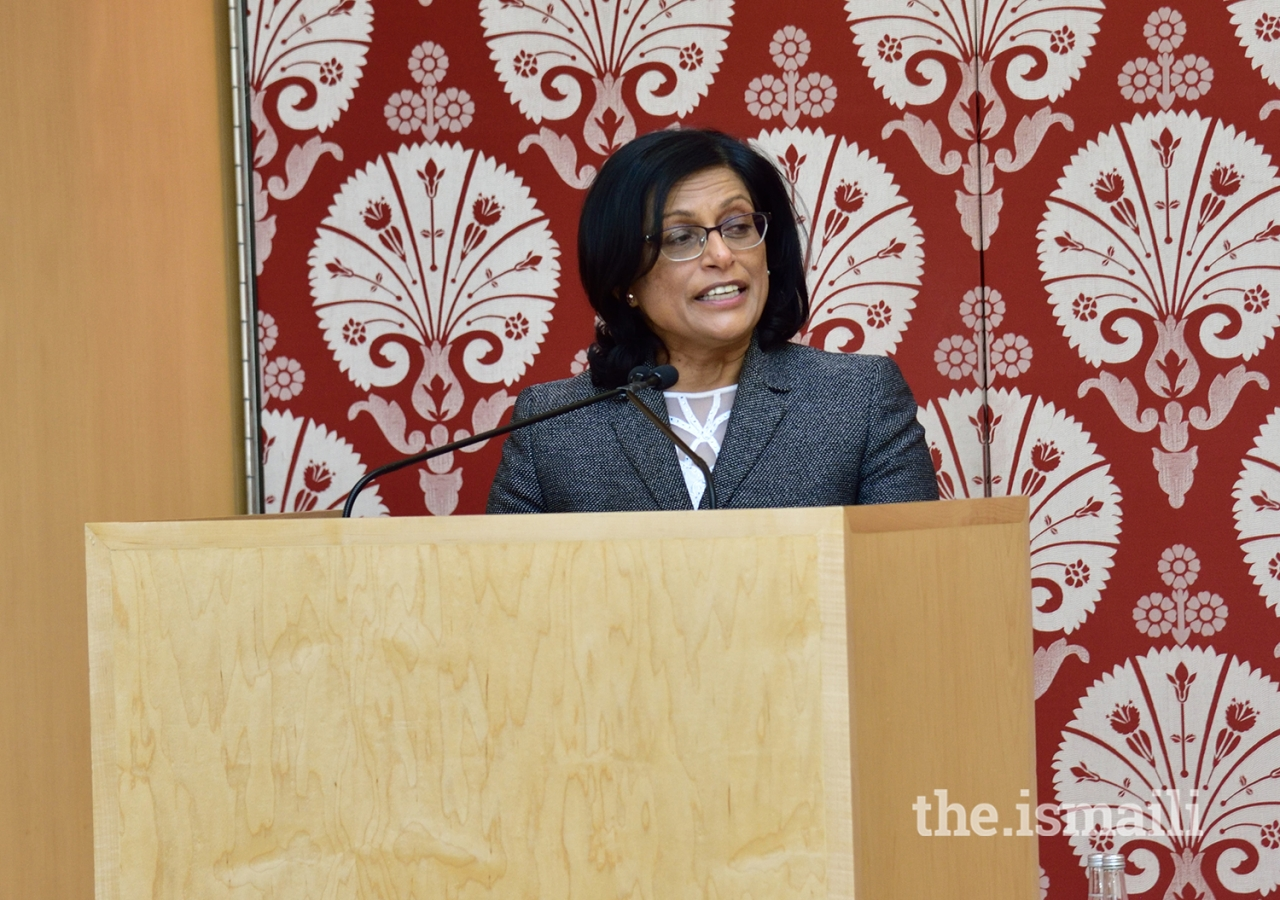 Ismaili Council for Ontario President Sheherazade Hirji highlighted the shared values of enhancing the intellect and promoting pluralism that underlie the partnership.