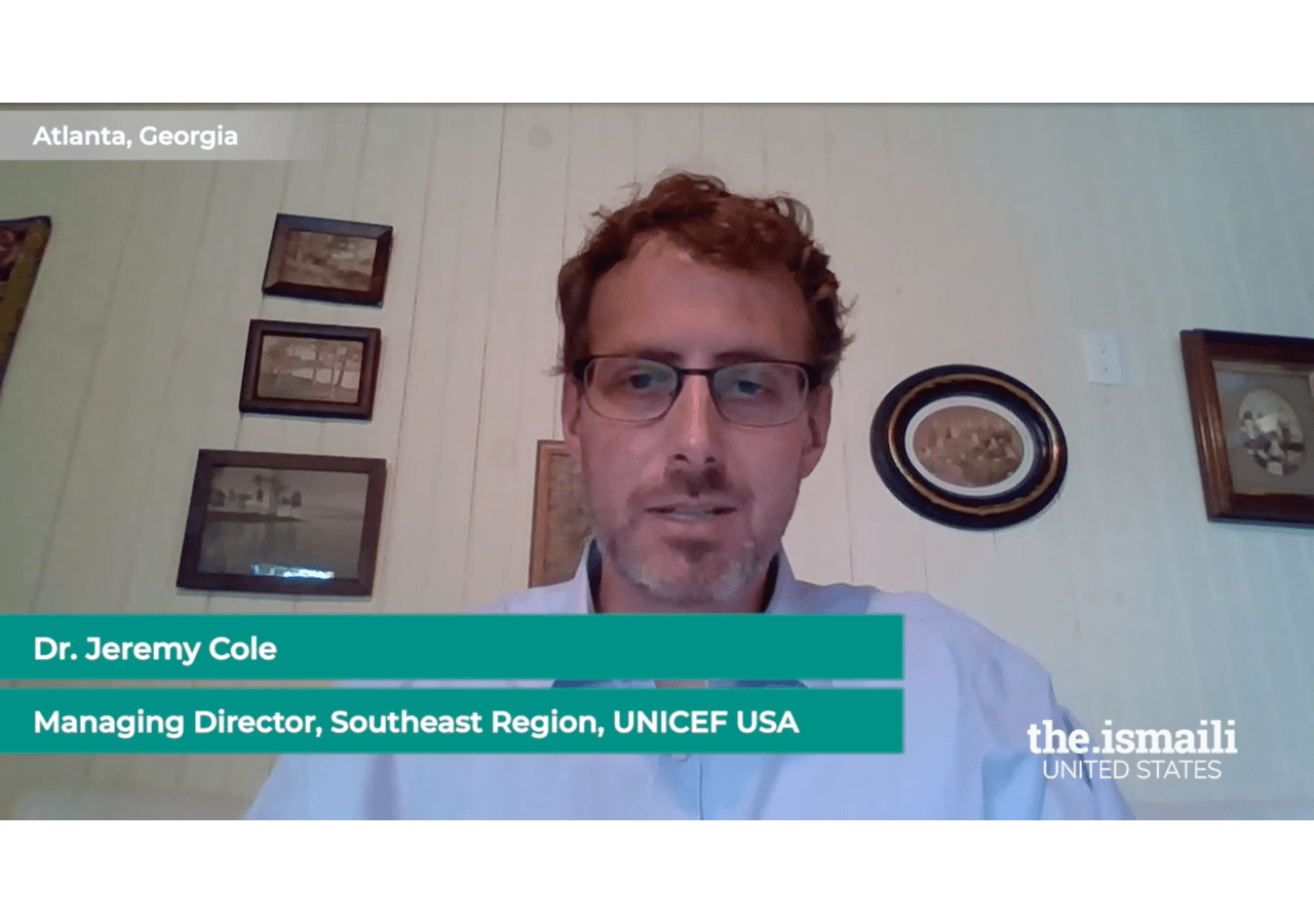 Jeremy Cole, Managing Director of the Southeast Region of UNICEF USA, joins the session to discuss how his organization aims to bring about real change to help children around the world.
