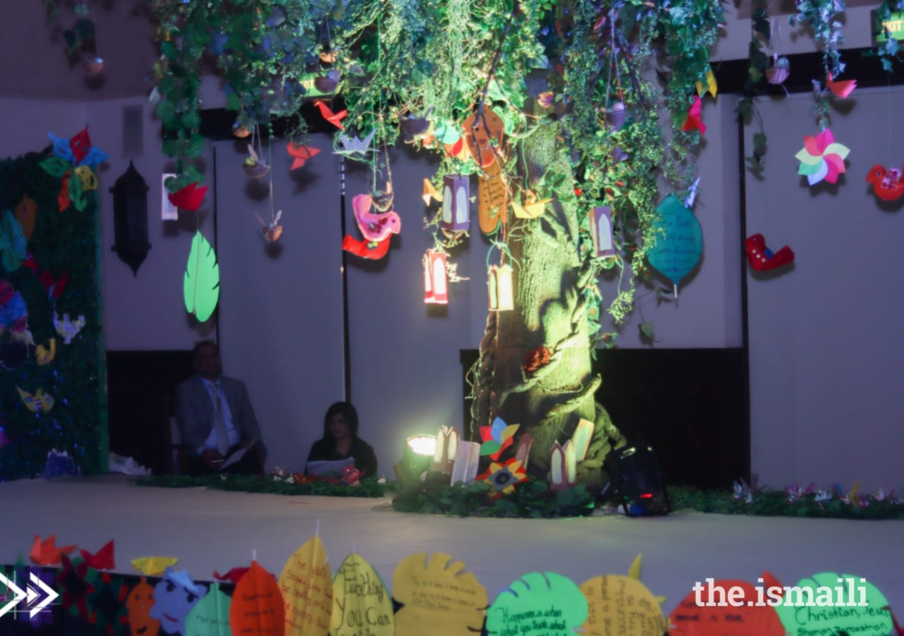 The final creation of DiversiTree to celebrate the UAE's Year of Tolerance.