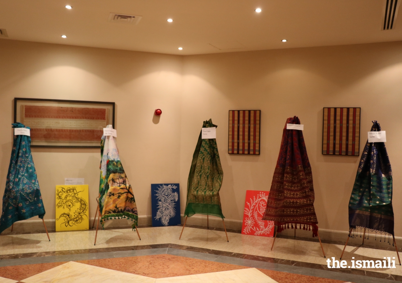 Traditional artifacts at display