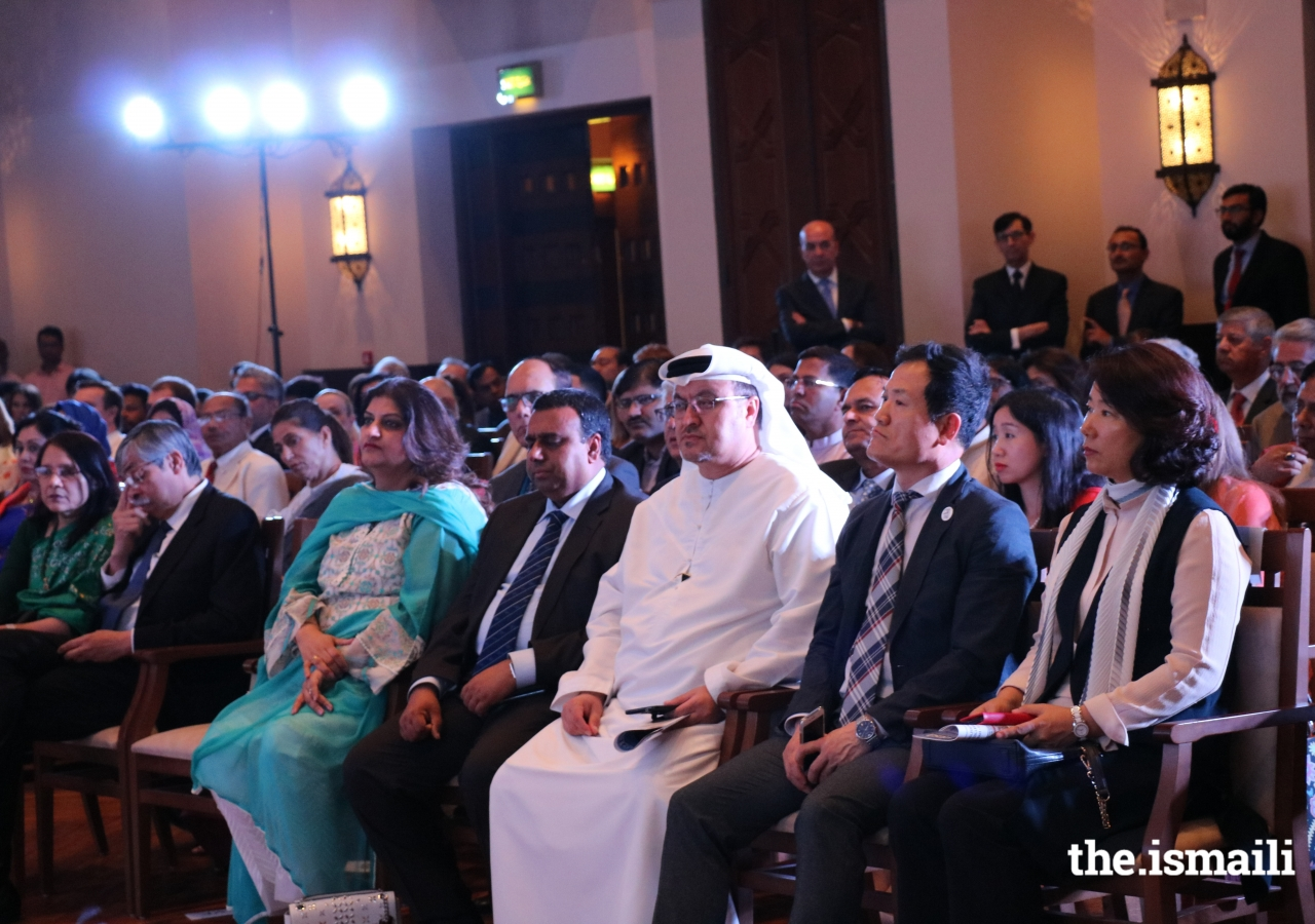 The audience comprised 230 guests who were spellbound by the dance and music performances