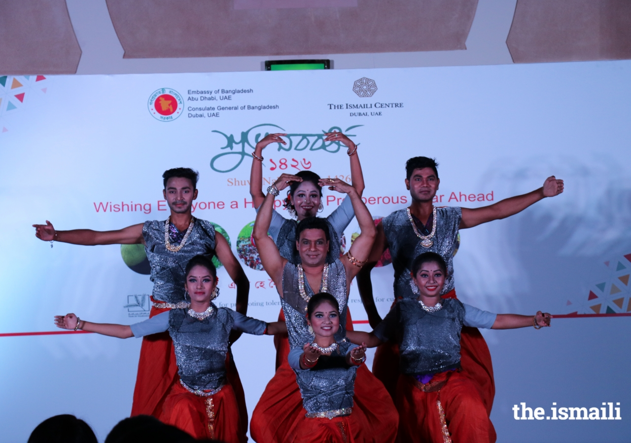 Bangladeshi folk and cultural dances performed by the Srishti Cultural Group