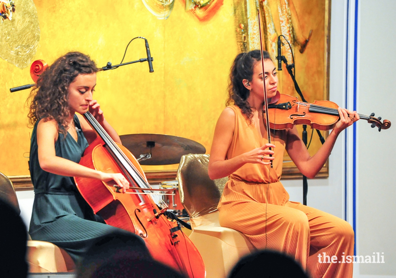 The Music Series opened in November 2017 with the Ayoub sisters, and their unique fusion of classical and modern music with a Middle Eastern twist.