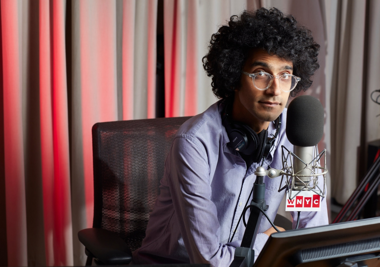 Latif Nasser is the host and executive producer of the Netflix documentary series 'Connected: The Hidden Science of Everything'.