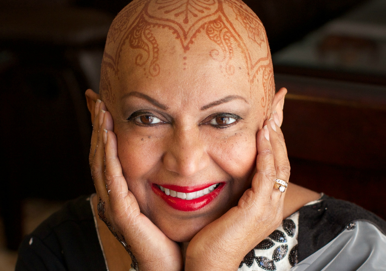 """""""When dealing with the ravages of cancer,"""" says Munira Premji, """"be kind to yourself and to eat nutritionally when you can."""" Photo: Frances Darwin"""