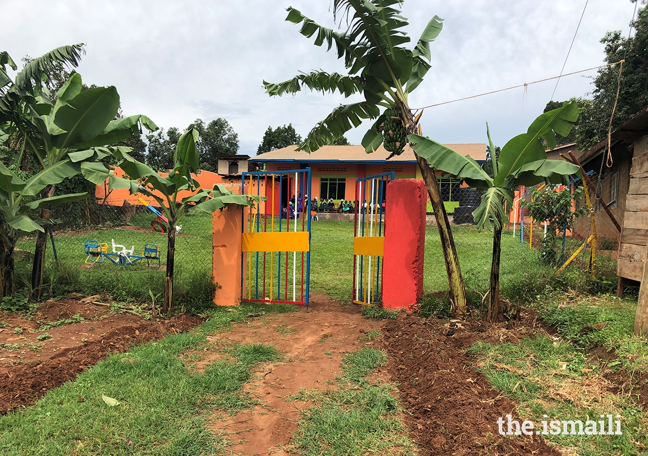 As part of the event, the school's front gate was replaced and painted, the school grounds were cleared, external parts of the school were painted, and over 100 plants and trees were planted.