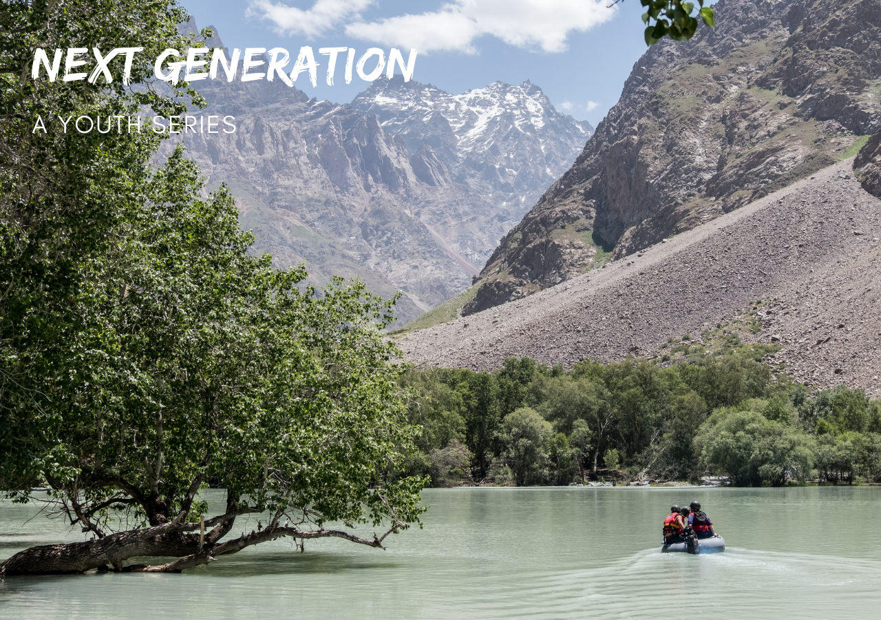 The Aga Khan Agency for Habitat makes bathymetric (depth) assessments of lakes and rivers in Tajikistan jointly with Moscow State University specialists.