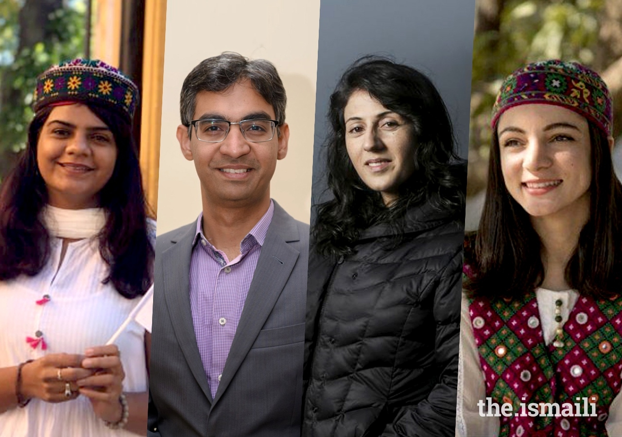 From Left to Right, Sonal Dhanani, Khurram Lalani, Samina Baig, and Karishma Ali, all of whom have been appointed to Pakistan's National Youth Council.