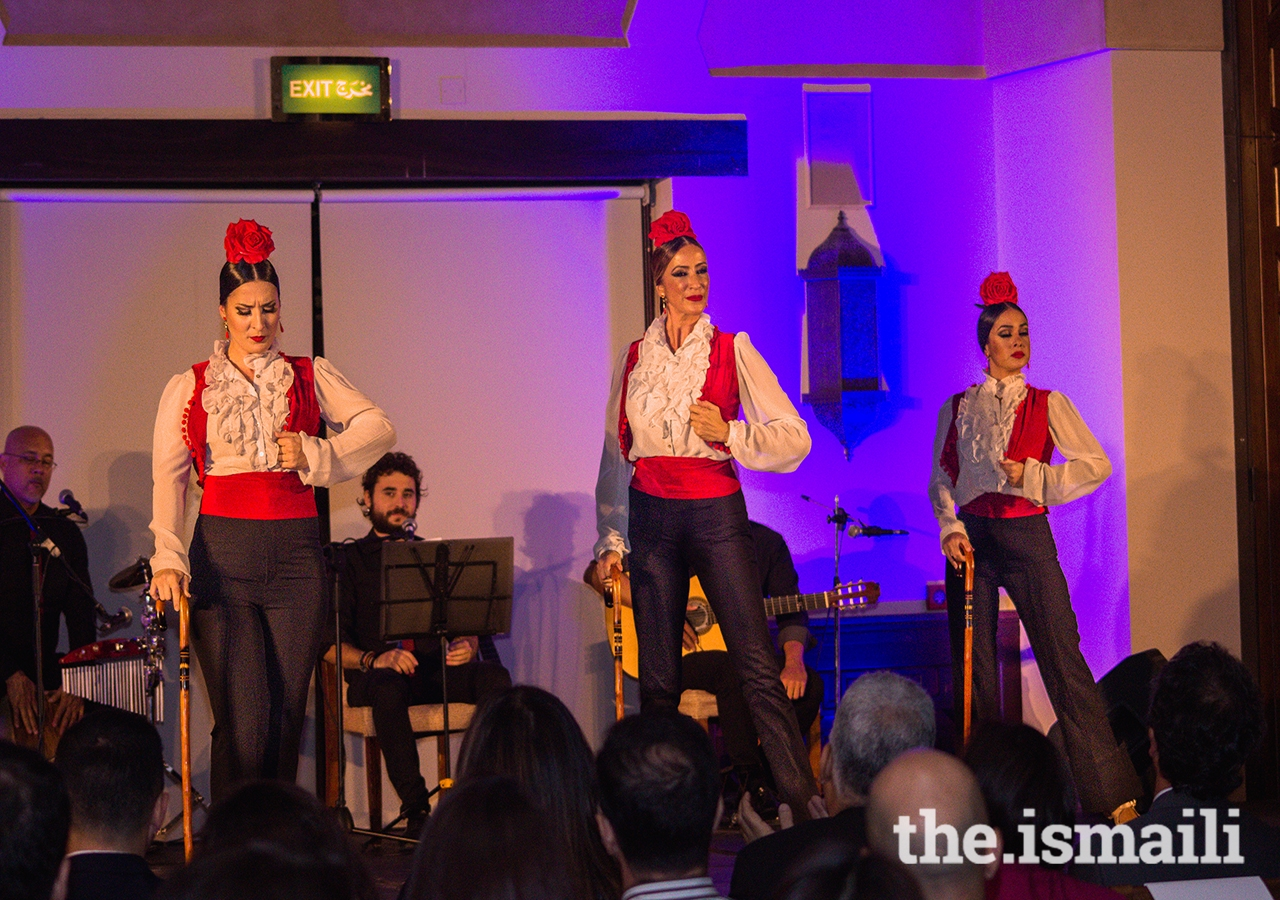 A cultural evening of Flamenco was held at the Centre, showcasing this captivating and characteristic part of Spanish culture, while bringing together the Spanish Ambassador to the UAE and various diplomats from Spain and other countries.
