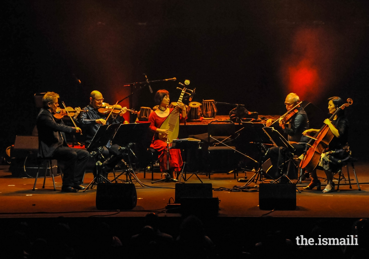 The concert at the Royal Albert Hall reflected pluralism, diversity and the crossing of cultural borders.